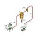粉體氣力吸灰機粉末負壓抽灰機六九重工集裝箱中轉氣力吸灰