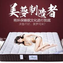 床垫席梦思天然椰棕床垫棕垫酒店公寓家用床垫成人独立弹簧床垫厂家批发图片