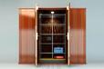 新中式四门智能衣柜——悍威斯顿安全智能柜(内置安全保险柜)