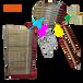 湖北孝感孝昌50層絲印干燥架載重型絲網印刷晾曬架