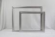 福建龙岩丝印铝合金网框绷网制版耐溶剂印花铝框价格