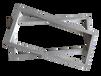 貴州鋁合金絲印網框跑臺印花框絲印鋁框30402.0田字型材
