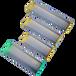 10cm絲印刮斗加厚網版上漿器25cm絲網印刷鋁合金上膠器價格