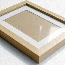 厂家直销定制原木色相框摆/挂两用实木相框木质相框
