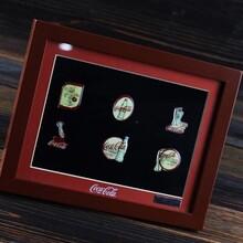 纪念币/收藏品专用加厚立体画框批发徽章用礼品相框加工定制图片
