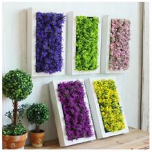 立体加厚仿真植物标本框批发内空仿真花多肉植物墙饰壁挂框架图片