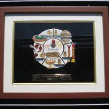 礼品相框批发收藏/礼品纪念币放徽章用立体木制相框可加LOGO图片