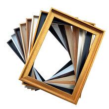 现代画框油画外框ps塑料发泡相框线条画框条厂家定制油画是怎么装裱外框的呢
