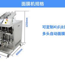 專業技術面膜灌裝機面膜設備