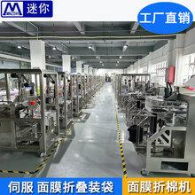 伺服面膜折疊機器面膜折疊包裝機折疊面膜布