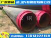 吉林供热管道聚氨酯发泡直埋保温管厂家供应价格
