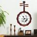 限時秒殺!中式典雅復古古典琵琶造型掛鐘樂器造型墻鐘B8077-1