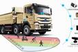 交管部門車輛事故防治方案,渣土車駕駛盲點監測預警系統,鼎洲科技