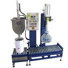 10KG20KG30KG液体灌装机油墨油漆树脂涂料化工原料自动半自动灌装机厂家直销图片