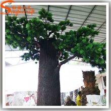 广州松涛工艺仿真树景观仿真松树场景布置仿真假树