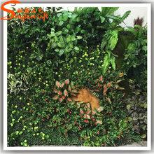 广州松涛工艺人造植物墙高仿真住宅装饰绿色植物墙