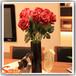 广州松涛工艺仿真玫瑰花室内仿真花装饰道具