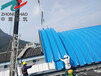 供应玉门拱形钢屋盖