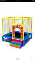 幼儿园儿童游乐设施蹦蹦床批发采购图片