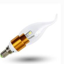 山东枣庄LED球泡灯,尖泡灯,蜡烛灯LED照明图片