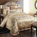 欧式天丝贡缎镂空提花四件套家纺全棉绣花被套床单婚庆床上用品