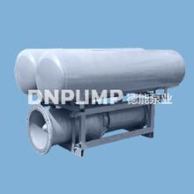 紧急排水移动安装浮筒轴流泵图片