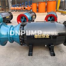 1000QZB斜拉式潜水轴流泵大流量泵图片