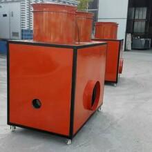 养殖场暖风机、暖风炉、养殖加温设备燃煤热风机图片