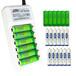 澳力氏5号7号套装多功能配24节电池充电电池可代替1.5标准充电器