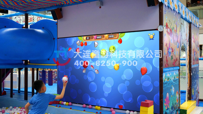 童游科技2017儿童互动魔法砸墙游戏设备墙面互动投影设备热门