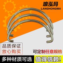 东莞厂家专业定做铁线折弯成型,五金异形弹簧加工批发零售