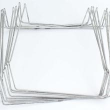 厂家专业生产外卖配件铁架锡纸盒架五金铁线折弯成型异形弹簧