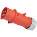 启星QX2524芯16AIP44工业插头/工业插座/工业插头插座防水插头
