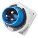 启星QX8313芯32A工业防水插头工业暗装插头