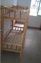 供应奥瑞斯实木木床/深圳双层木床定制/龙岗午托班木床生产图片