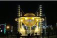 台湾雕塑夜色景观灯饰镂空树脂玻璃钢雕塑创意制作