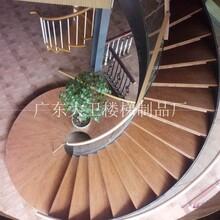 钢木楼梯厂家大型工程钢木楼梯广东盛世大卫楼梯制品厂图片