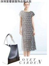 国际专柜品牌女装尾货品牌折扣女装尾货货源大量供应图片