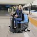 机场用洗地机|容恩驾驶式洗地机R-XBEN|火车站用洗地机