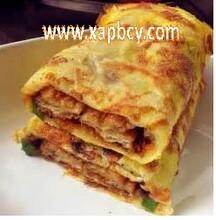 宫廷牛肉饼培训,豆腐脑,无矾油条,杂粮煎饼,烤面筋,广东肠粉培训图片