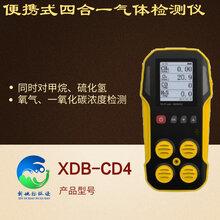 便攜式四合一氣體檢測儀XDB-CD4圖片