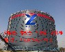 供应聊城裕隆钢板仓,YL-25型卷板仓,气化管出料系统设计制作安装,排空率98%