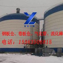 供应聊城裕隆钢板仓,YL-32流化棒气化管出料,效果好,价格低