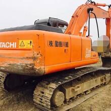 湖南二手日立200挖掘机低价出售包运费图片