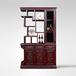 941红木家具-阔叶黄檀(黑酸枝)隔厅柜