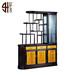 941红木家具商城-紫光檀+金丝楠木酒柜