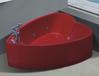 安迪独立式豪华五件套按摩浴缸亚克力贵妃缸红爱心浴缸