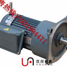 機械機床減速用齒輪減速馬達立式齒輪減速機GV22三相齒輪減速機圖片
