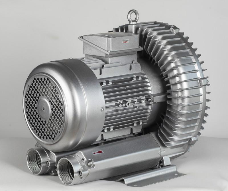 上海优昂机电现货供应新型环保电镀槽液搅拌用RB055(3.7KW)环形高压鼓风机