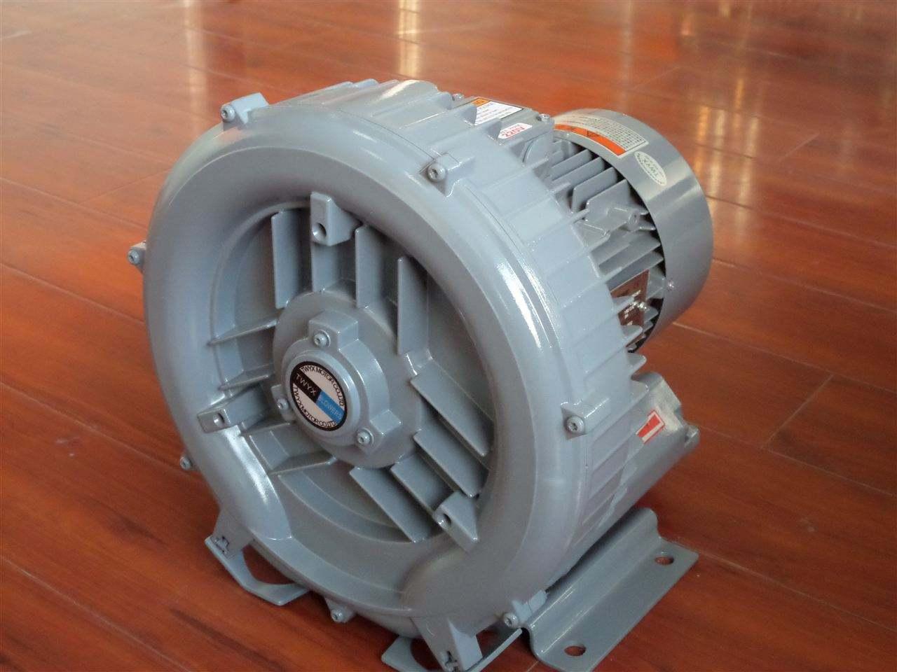 卷烟成型,烟叶烘干炕房吹风升温用RB-750AS环形高压鼓风机,优昂高压气泵效果好